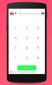 Make free online calls to any mobile or landline