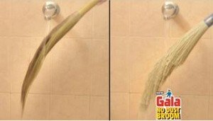 The Gala No Dust broom is washable