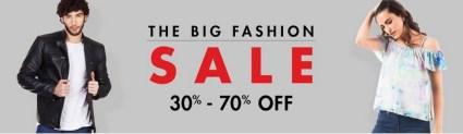 Amazon The Big Fashio Sale
