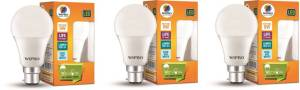 Flipkart - Buy Wipro B22 D LED 9 W Bulb (White, Pack of 3) at Rs 500 only