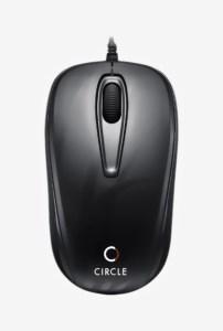 TataCliq – Circle CM 318 USB Optical Mouse (Black) at Rs 150 only