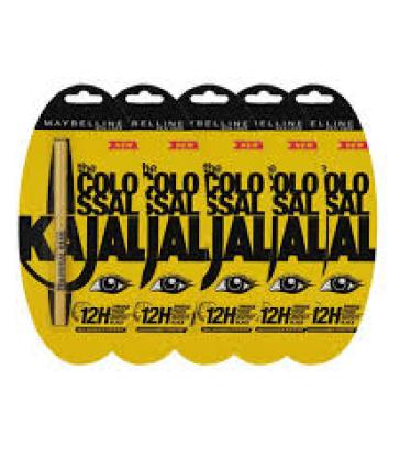 Snapdeal – Buy Maybelline Colossal 12 H Black Kajal Pack of 20 Worth Rs 2200 at Rs 985 only