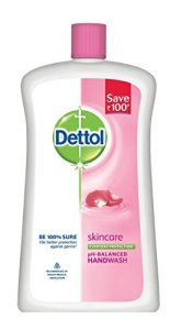 Amazon - Get Dettol Liquid Soap Jar, Skincare - 900 ml at Rs.119 only