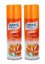Amazon – Buy Odonil Room Spray – 140 g (Sandal Bouquet, Pack of 2) for just Rs.87
