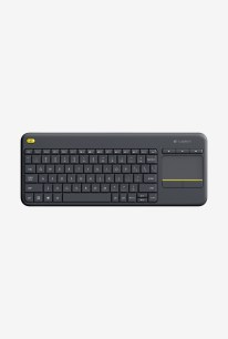 TataCliQ - Buy Logitech Wireless K400 Plus Touch Keyboard (Black) at Rs 1749 only
