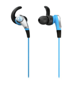Amazon – Buy Audio Technica ATH-CKX5 BL Sonic Fuel In-ear headphones, Blue at Rs.1,044