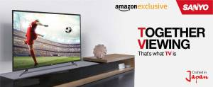 Amazon - Buy Sanyo LED TVs starting from Rs 13790 for 32 inch model + Exciting Offers + 5% cashback on HDFC Debit cards