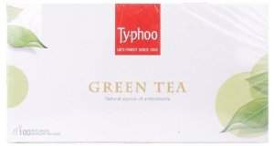 Amazon - Buy Typhoo Green Tea, 100 Tea Bags at Rs 248 only