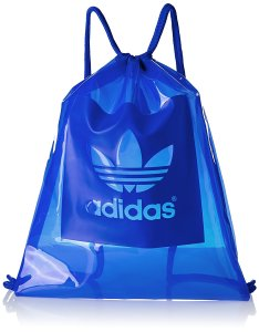 Amazon - Buy adidas Fabric 15.7 Ltrs Blue Gym Bag at Rs 889 only