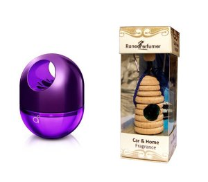 Amazon - Buy 45 ml Godrej Twist Car Air Freshner Perfume + Rich & Ranee Perfumer Hanging air Freshner (8ml) Bubble Gum at Rs 349 only