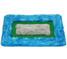 Amazon - Buy Story@Home Cotton Blend Diana Door Mat-Bath Mat, Blue at Rs 149 only