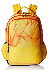 American Tourister Yellow Casual Backpack (CLICK 2016)