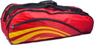 Flipkart - Buy Li-Ning BADMINTON KIT BAG (Red, Kit Bag) at Rs 307 only + Rs 40 Delivery