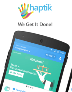 HAPTIK APP GET 50 CASHBACK ON recharges and bill payments max Rs 500
