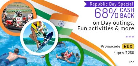 Little - Get 68% cashback upto Rs.250 on Day outings