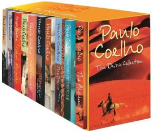 PAULO COELHO THE DELUXE COLLECTION (English, Boxset, Coelho, Paulo) set of 10 books at Rs 1200 only flipkart