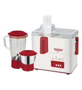 Pepperfry - Buy Maharaja Whiteline Gala 450W Juicer Mixer Grinder at Rs 1499 only