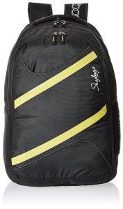 Amazon - Buy Skybags Router 26 Ltrs Black Casual Backpack at Rs 1047 only