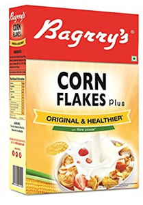 Bagrry's Original and Healtheir Corn Flakes Plus, 475g