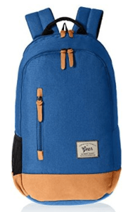 Gear Classic 24 ltrs Royal Blue and Brown Casual Backpack (BKPCAMPS81002)