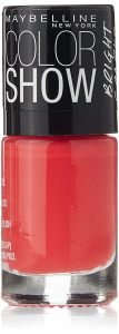 Amazon - Buy Maybelline Color Show Bright Sparks, Flash of Coral, 6ml at Rs 82 only