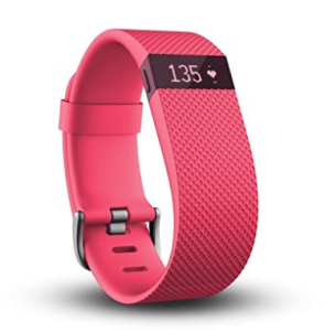 Fitbit Charge Heart Rate and Activity Wristband, Large (Pink) at Rs.7,500