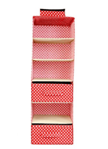 My Gift Booth Cotton Wardrobe Organiser, Red for Rs.449