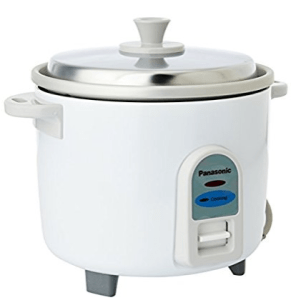 Panasonic SR-WA10 450-Watt Automatic Cooker Without Warmer - 2.7 Litre