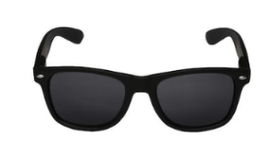 Rocky Hill Classic Black Wayfarer Sunglass (UV PROTECTED)