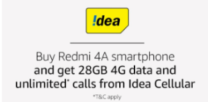 redmi 4a offers
