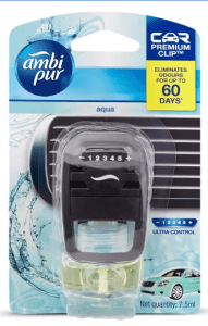 Ambi Pur Car Aqua Air Freshener Starter (7.5 ml)