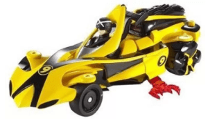 Hot Wheels Speed Racer 2 Vehicles In 1 Deluxe Vehicle And Figure Set at Rs.3,372