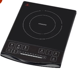 Kenwood IH350 New 1900-Watt Induction Hob (Black)