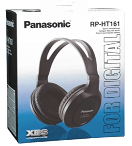 Panasonic RP-HT161E-K Over-Ear Headphone (Black)