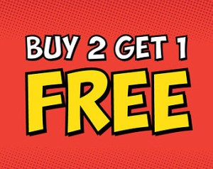 amazon home furnishing buy 2 items and get 1 free