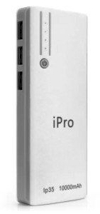 iPro IP35 For Smartphones & Tablets IPRO 10000 mAh Power Bank