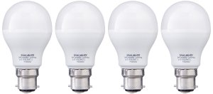 Amazon- Buy Halonix Photon Plus Base B22 7-Watt LED Bulb (Pack of 4, Cool Day Light) at just Rs 289 only