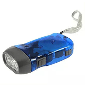 AndAlso Hand Pressing Flash Light - No Battery No Bulb, Simply Shake to Recharge at rs.77