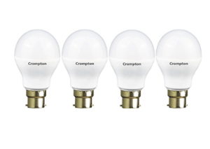 Crompton 9WDF B22 9-Watt LED Lamp (Cool Day Light and Pack of 4) at rs.399