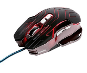 Dragon War ELE G12 3200 DPI Mouse with Auto Reload Function and Mouse Mat at Rs.899
