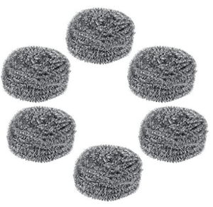 Gala Steel Scrubber Combo Set (Pack of 6) at rs.99