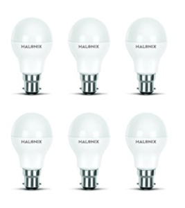 Halonix Photon Plus Base B22 9-Watt LED Bulb (Pack of 6)