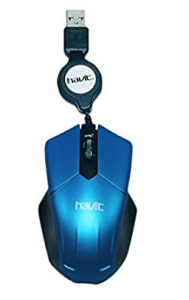 Havit HV-MS677 Wired Mouse, Blue at rs.99