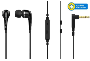 SoundMagic ES11S Wired Headset With Mic (Black) at rs.59