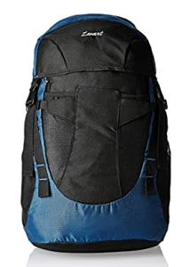 Zwart Black And Blue 35 Ltrs Free Size Backpack / Rucksack