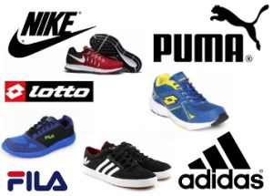 Get Nike, Adidas, Lotto & More Footwear at Upto 80% Off from Rs. 599