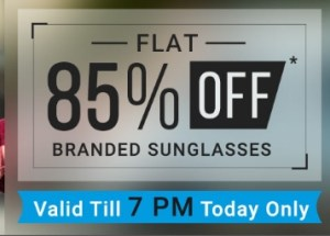 Coolwinks – All Branded Sunglasses, starts at Rs. 169 ( Valid Till 7 PM only)
