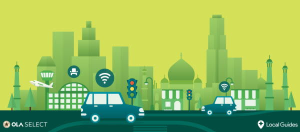 Google Local Guides : Reach Level 3 & get Free 1 Month Ola Select Membership