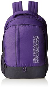 Amazon American Tourister 25 Lts Purple Casual Backpack