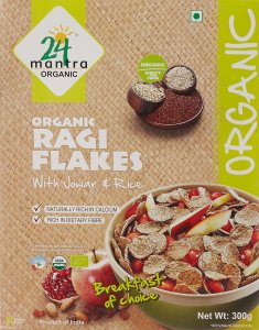 Amazon – Buy 24 Mantra Organic Ragi Flakes, 300g  at Rs 92 only